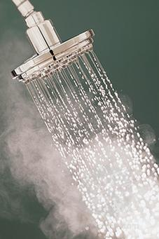 Steaming Shower Head
